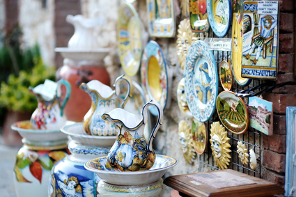 Traditional Italian ceramics